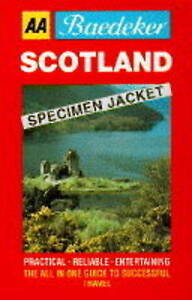 Baedekers-Scotland-AA-Baedekers-Donald-James-Used-Good-Book