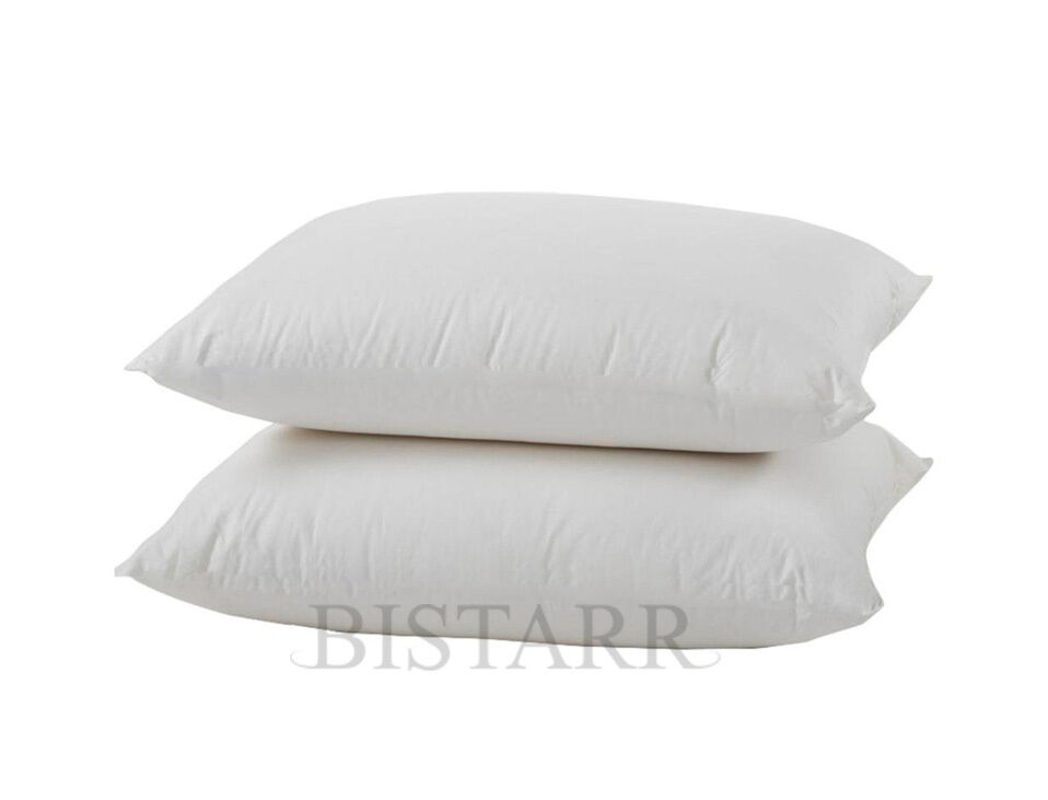 deluxe bounce back extra large quilted pillows pair ebay. Black Bedroom Furniture Sets. Home Design Ideas
