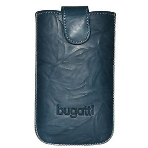 Bugatti Tasche SlimeCase 07799 Unique Gr. SL, Leder, jeans, (81x134mm), Case