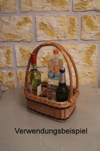 Bottle Basket Bottle Carrier Bottle Holder for 4 6 8 Bottle Wicker Basket