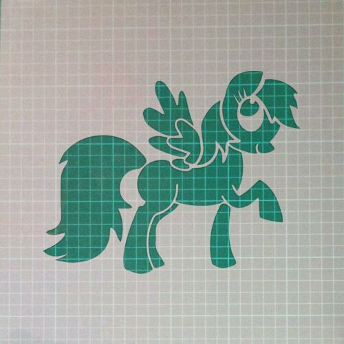 My Little Pony Animal Character Mylar Airbrush Painting Wall  Crafts Stencil 2