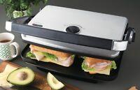 Sunbeam Cafe Contact Grill And Sandwich Press 2400w Gc7850b Sandwich Maker