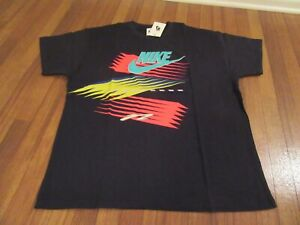 Nike-Air-Max-2-Light-Atmos-NRG-Tee-T-Shirt-Size-Large-Black-Brand-New-With-Tags