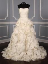 AUTHENTIC Monique Lhuillier Floressa X Silk NEW Wedding Dress 10 RETURN POLICY