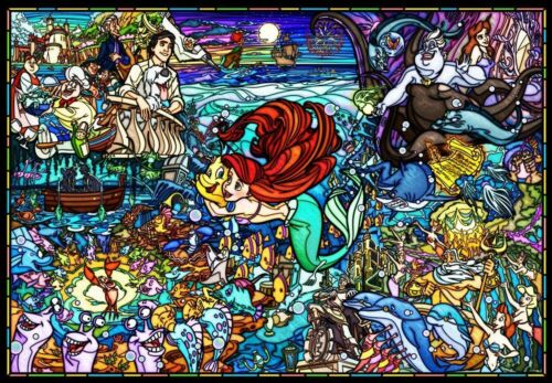 Tenyo Jigsaw Puzzle DP1000-033 Disney The Little Mermaid Story 1000 Pieces