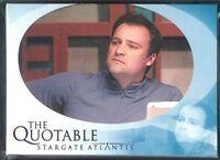Stargate Atlantis Season 2 Quotable Chase Set Q21-q40