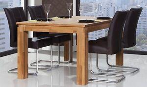 Tisch 150x80.Details Zu Esstisch Tisch Maison Wildeiche Massiv Geölt 150x80 Cm