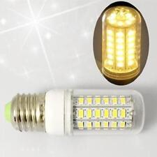 7W E27 LED Corn Lamp Bulb w/Cover 56SMD 5730 Light 110V Warm White