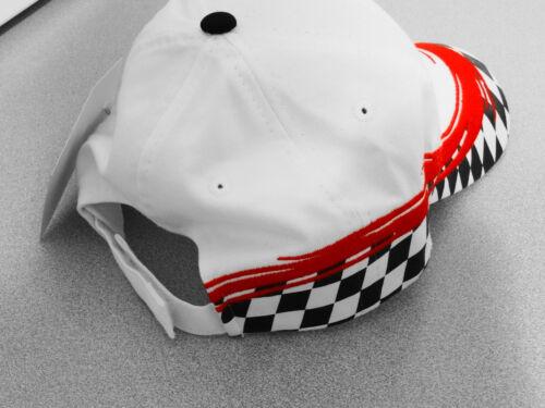 PONTIAC ARROW HEAD CHECKERED HATS BY GM