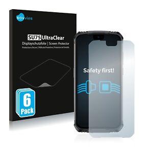 6x protector de pantalla para doogee s59 pro claramente recubrimiento protector protector de pantalla