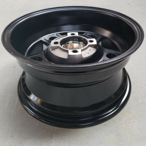 14x7 4//110 2+5 Super Grip ATV UTV RTV RIM WHEEL 5-Star Matte Black Machined Face