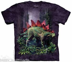 Stegosaurus-Shirt-Dinosaur-Mountain-Brand-In-Stock-Adult-Sizes-Sm-5X-tee