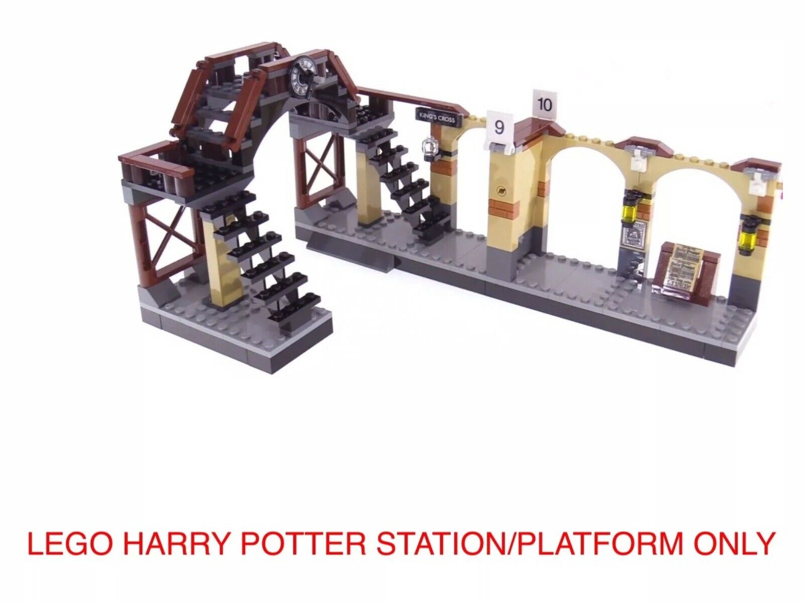 LEGO HARRY POTTER  HOGWARTS EXPRESS PLATFORM ONLY NEW. SPLIT FROM SET 75955