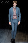 NEW- GUCCI Dylan 60's Suit Sz. 40-42 R (52R) 35/29 Blue Slim-Fit Tom Ford $2,720