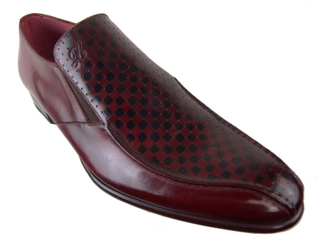 CALZOLERIA ZENOBI ITALIAN HAND CRAFTED MENS scarpe LOAFERS BLAKE EU Dimensione 40