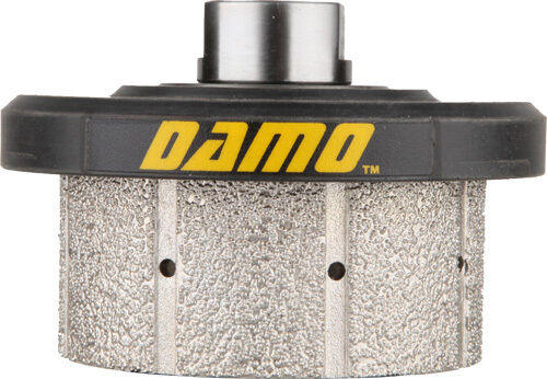 DAMO Z30 90 Degree Diamond Hand Profiler   Drum Wheel for Granite Countertop