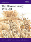 The German Army, 1914-18 by R.J. Marriot, D.S.V. Fosten (Paperback, 1978)
