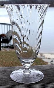 """CAMBRIDGE """"Caprice"""" #300..4-Clear Iced Tea Glasses (8 Avail)..MINT..Shipped FREE"""