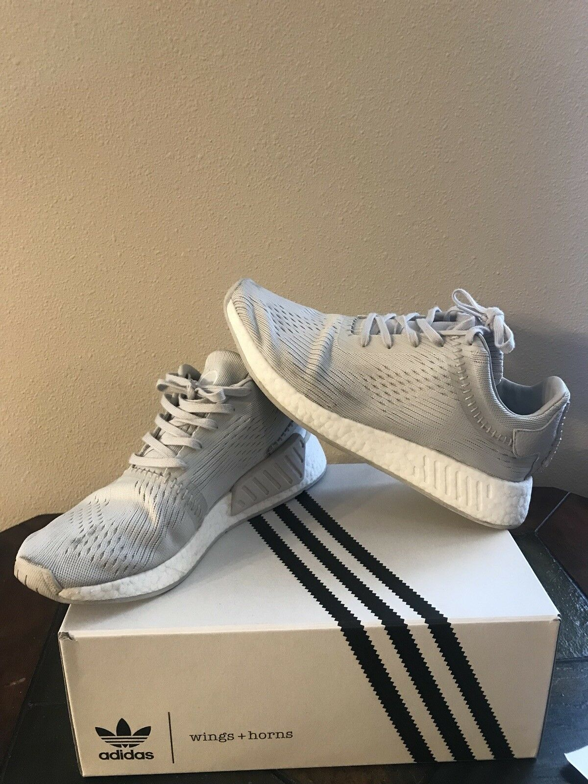low priced ab15f f8c25 ORIGINAL ADIDAS Men s Tubular Doom Sock PK CQ0683 Size US 12,. Adidas NMD  R2 R2 R2 Wings And Horns Size 10.5 2d43b7
