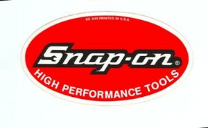 """""""NEW"""" Vintage Snap-on Tools Tool Box Cabinet Sticker ..."""