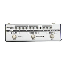 Valeton Dapper Mini Guitar Pedal Effects Strip Tuner Drive Chorus Delay Phones