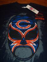Chicago Bears Nfl Football Fanatic Fan Wrestler T-shirt Medium W/ Tag