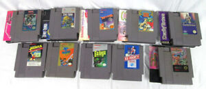 10-Nintendo-NES-Lot-MUSCLE-Galaga-Xevious-Wizards-Dead-Knight-Trojan-Dragon-Time