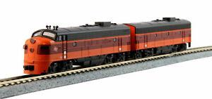 KATO-1060431-N-Scale-EMD-FP7A-amp-F7B-Milwaukee-Road-A-B-Set-90A-amp-90B-106-0431