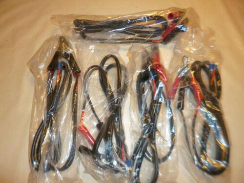 5 Stück Akku Batterie Klemmsatz mit isolierten Klemmen und Gabel Kabelschuh