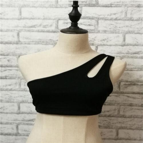Womens Slim Fit Crop Vest Top Sleeveless Shirt Blouse Casual Tank Top T-Shirt Z