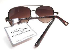 40fbff745f NEW women s OSCAR DE LA RENTA 3041 aviator sunglasses