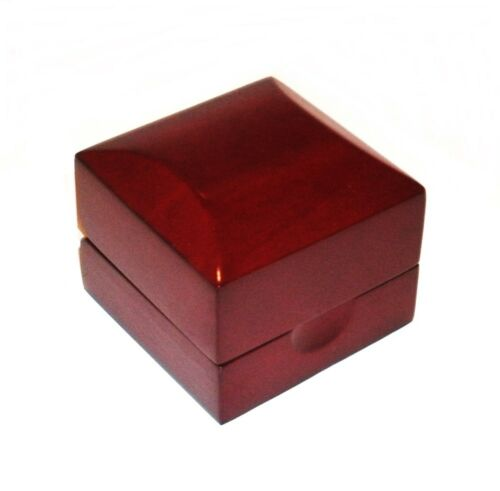 Wholesale Lot of 12 Rosewood Earring Jewelry Display Gift Boxes