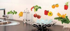 Aufkleber-Sticker-Wandaufkleber-Wandsticker-Tomato-Gemuese-Paprika-Kueche-Moebel