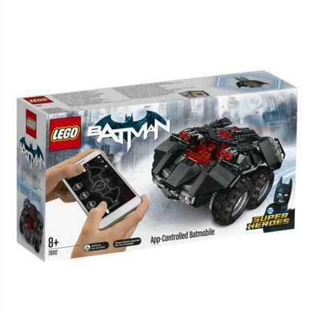 LEGO DC Super Heroes App-Controlled Batmobile 76112 Building Kit  321 Piece