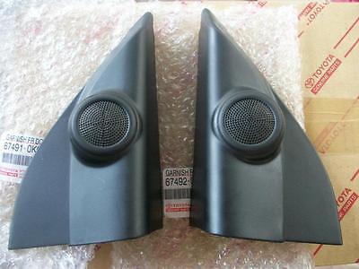 Garnish Black Tweeter Speaker For Toyota Hilux Sr5 Mk6 Mk7 Vigo Champ 2005 2013