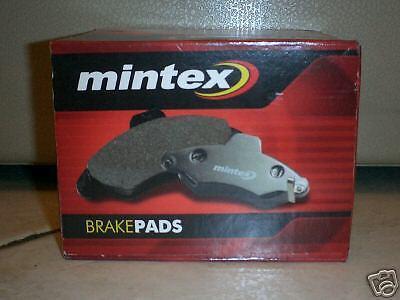 PEUGEOT 206 1.6 8v MINTEX BRAKE PADS FRONT 98-2000