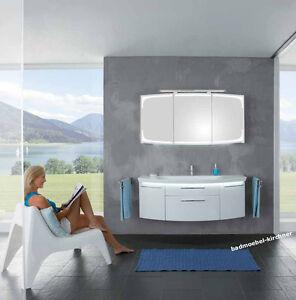 Puris Badmobel Classic Line 02 Spiegelschrank Waschtisch 140 Cm Weiss