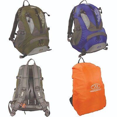 Summit Hi-vis Large Waterproof Rucksack Backpack Cover Camping Travelling 40+L