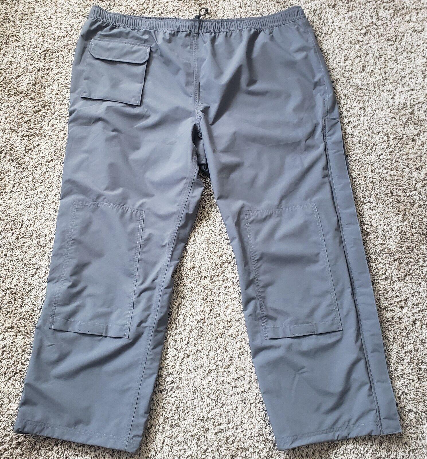 Duluth Rain Pants Mens 2XL No-Rainer Waterproof Dark Gray NEW
