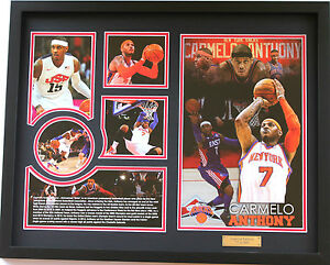 New Carmelo Anthony New York Knicks Limited Edition Memorabilia