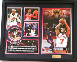 New Carmelo Anthony New York Knicks Limited Edition Memorabilia