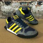 adidas Mens MARATHON 80 Trainers Blue/Yellow size 9 LTD Sneaker US 9.5 EU 43 1/3