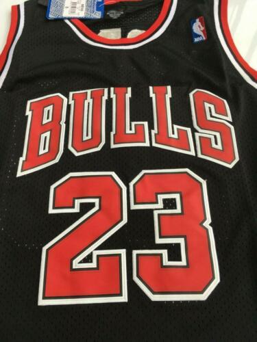 CHICAGO BULLS NBA #23 Jersey MICHAEL JORDAN BLACK Basketball Swingman shirt