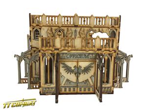 TTCombat-Sci-Fi-Scenics-Gothic-Ruined-Officium-Great-for-40k