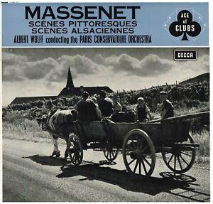 Massenet: Suite Für Orchester N.4 E 7 / Albert Wolff, Paris Conservatoire O LP
