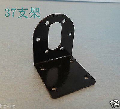2pcs 37mm Mounting Bracket Stand For DC Gear Motor Iron metal