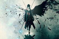 Hot Anime Naruto Shippuden Art Silk Posters 13x20inch Uchiha Sasuke