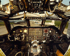 8X10 AIR FORCE Photo Cockpit of Boeing B-52D-30-BW Nuclear Bomber