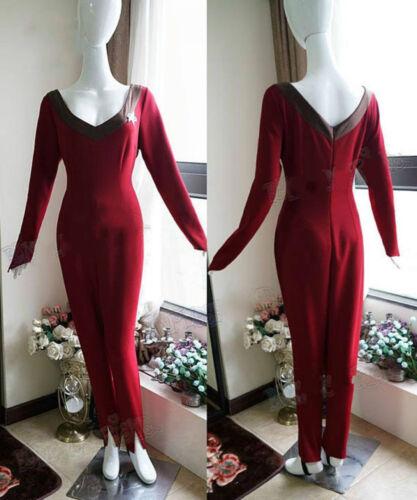 Star Trek la próxima generación Mono Disfraz Utilería Deanna Troi uniforme M.705
