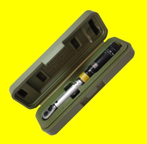 PROXXON 23345 Drehmomentschlüssel MC15 Messbereich 3-15Nm für kleine Drehmomente